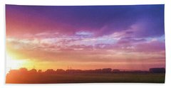 Brilliant Skies Beach Towel