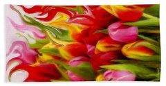 Bring Color Into Your Life Beach Towel by Gabriella Weninger - David