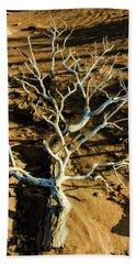 Brins Mesa 07-104 Stripped Bare Beach Sheet by Scott McAllister