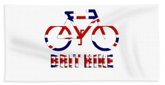 Brit Bike Beach Sheet