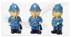 British Bobbies Beach Towel