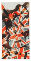 Britpop Nostalgia Beach Towel