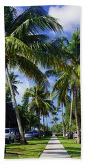 Broad Avenue South, Old Naples Beach Towel