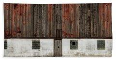 Broad Side Of A Barn Beach Sheet by Julie Hamilton