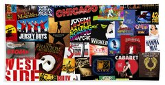 Broadway 3 Beach Towel