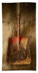 Tools On Wood 2 Beach Towel by YoPedro