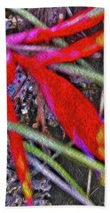 Bromeliad In The Cathedral Beach Towel