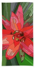 Bromiliad Beach Towel