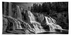 Brooding Gooseberry Falls Beach Towel