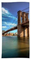 Brooklyn Bridge  Beach Sheet