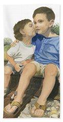 Brotherly Love Beach Sheet