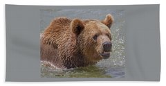 Brown Bear 10 Beach Sheet