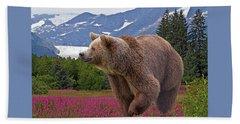 Brown Bear 2 Beach Sheet