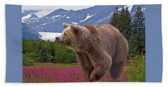 Brown Bear 2 Beach Sheet