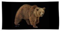 Brown Bear 5 Beach Sheet