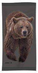 Brown Bear 8   Beach Towel
