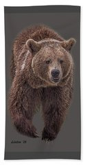 Brown Bear 8   Beach Sheet