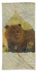 Brown Bear Beach Towel