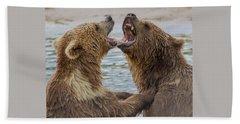 Brown Bears4 Beach Sheet