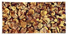Beach Towel featuring the photograph Browning Leaves by Glenn McCarthy Art and Photography