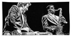 Bruce Springsteen Clarence Clemons Collection Beach Towel