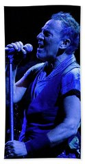 Bruce Springsteen-penn State 4-18-16 Beach Towel by Jeff Ross