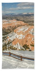 Bryce Amphitheater From Bryce Point Beach Towel