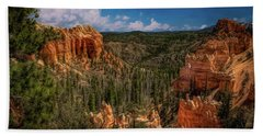 Bryce Canyon From The Top Beach Towel