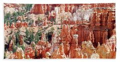 Bryce Canyon Hoodoos Beach Sheet
