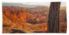 Bryce Canyon National Park Sunrise 2 - Utah Beach Sheet by Brian Harig