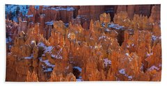 Bryce Canyon Spires Of Light Beach Towel