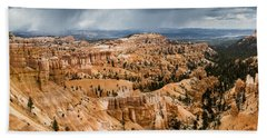 Bryce Canyon Storm Beach Towel