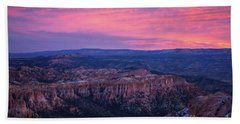 Bryce Canyon Sunrise Expanse Beach Towel