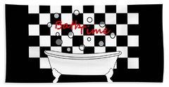 Bubble Bath - Bathroom Decor Beach Sheet