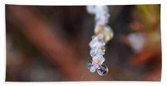 Bubble Eyed Water Drops- Loganville Georgia Beach Towel