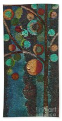 Bubble Tree - Spc02bt05 - Left Beach Towel by Variance Collections