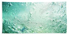 Bubbles Beach Towel