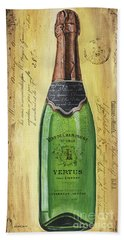 Bubbly Champagne 2 Beach Towel