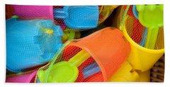 Buckets And Spades Beach Sheet