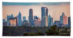 Buckhead Atlanta Skyline Beach Sheet