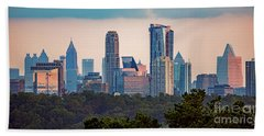 Buckhead Atlanta Skyline Beach Towel