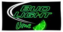 Bud Light Lime Edited Beach Towel