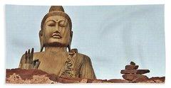 Buddha 1 Beach Sheet
