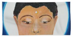 Buddha 1 Beach Sheet