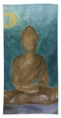 Buddha Abstract Beach Towel