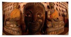Buddha Laos 1 Beach Towel by Bob Christopher