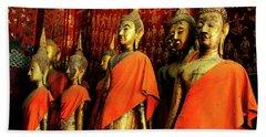 Buddha Laos 2 Beach Towel by Bob Christopher