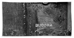 Beach Towel featuring the photograph Buddha by Laurie Stewart