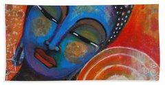 Buddha Beach Sheet by Prerna Poojara