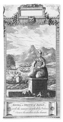 Buddhism: Amitabha Beach Towel